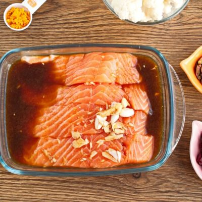 Soy-Maple Salmon recipe - step 1