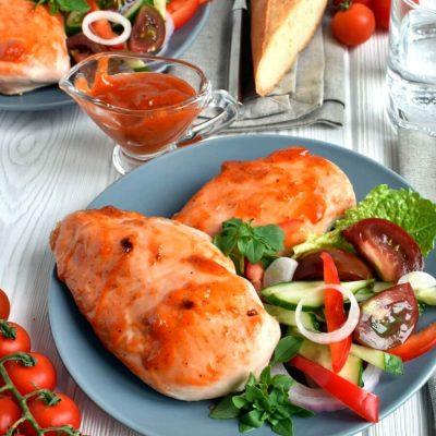 Spicy Apricot-Glazed Chicken Recipe-Homemade Spicy Apricot-Glazed Chicken-Delicious Spicy Apricot-Glazed Chicken
