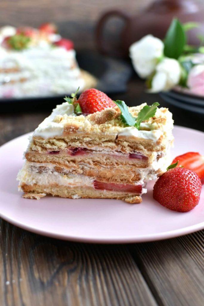 A Sweet Slice of Strawberry Shortcake