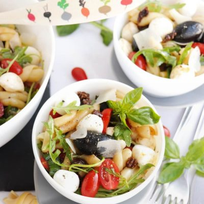 The New Italian Pasta Salad Recipe-Quick Italian Pasta Salad Recipe-How to Make Italian Pasta Salad