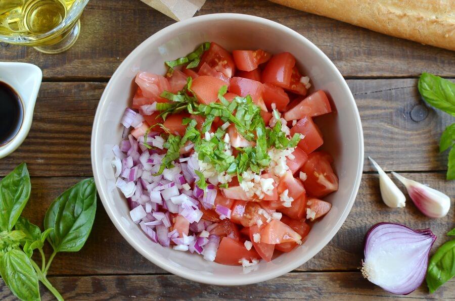 Tomato Bruschetta recipe - step 1
