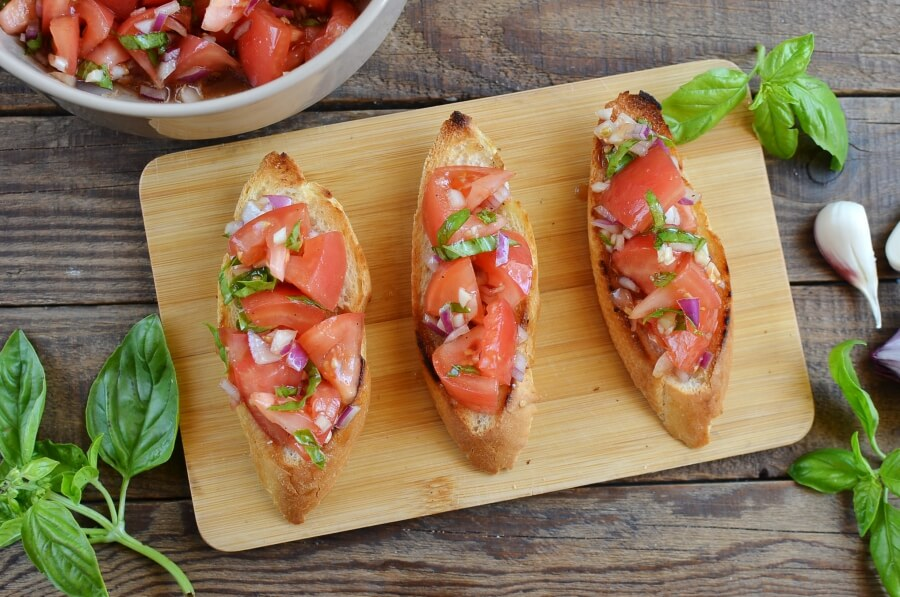 Tomato Bruschetta recipe - step 5