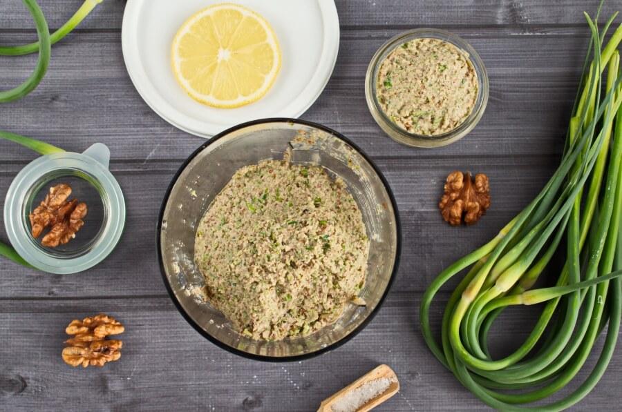 Vegan Garlic Scape Pesto recipe - step 4
