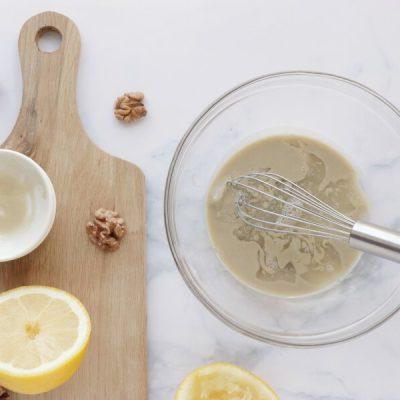 Vegan Roasted Cauli-Broc Bowl with Tahini Hummus recipe - step 3