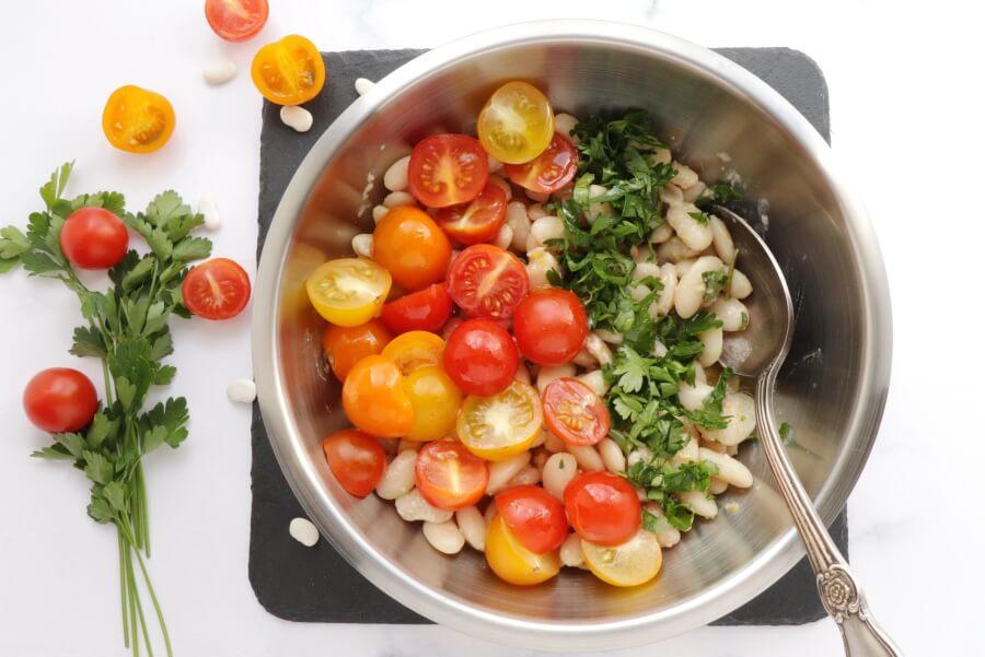 White Bean and Cherry Tomato Salad recipe - step 6