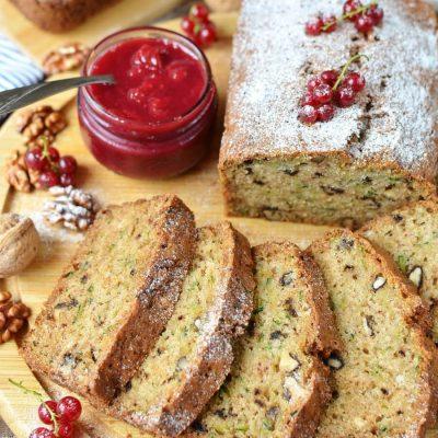 Zucchini Bread Recipe-Homemade Zucchini Bread-Delicious Zucchini Bread