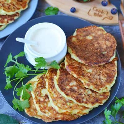 Zucchini Cheddar Pancakes Recipe-How To Make Zucchini Cheddar Pancakes-Delicious Zucchini Cheddar Pancakes