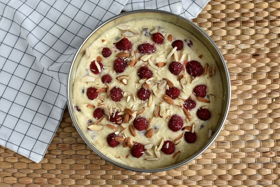 Almond Raspberry Coffee Cake recipe - step 10