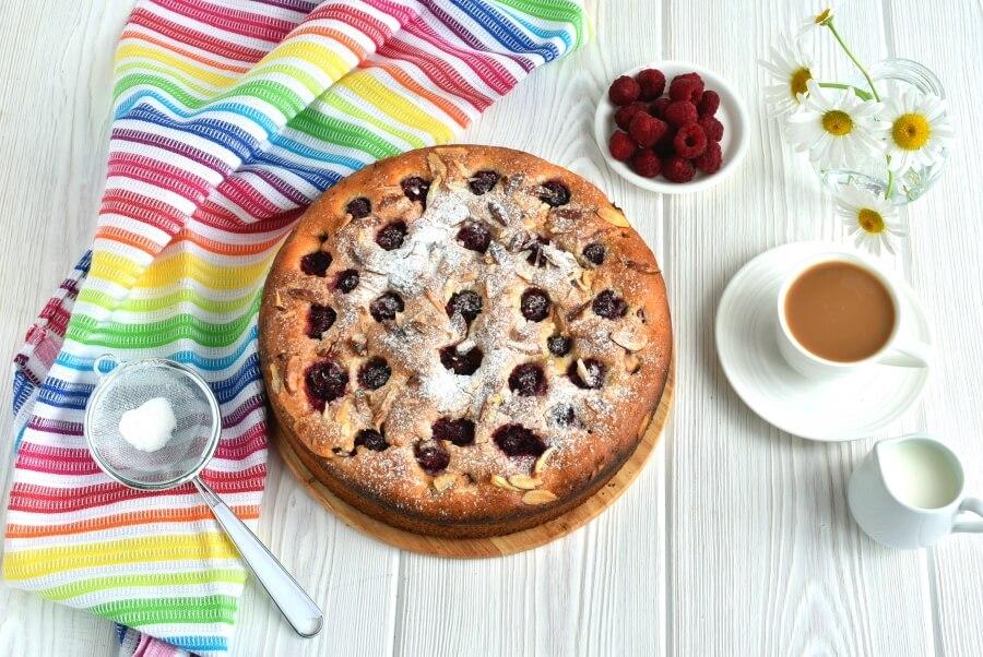 How to serve Almond Raspberry Coffee Cake