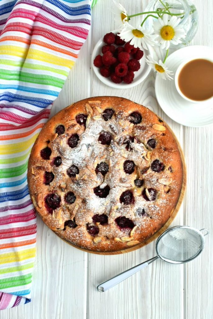Magnificent Almond and Raspberry Cake