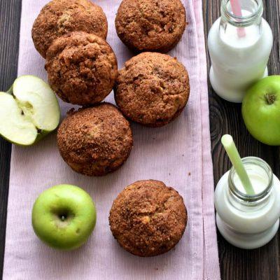 Apple Zucchini Muffins Recipe-Homemade Apple Zucchini Muffins-Delicious Apple Zucchini Muffins