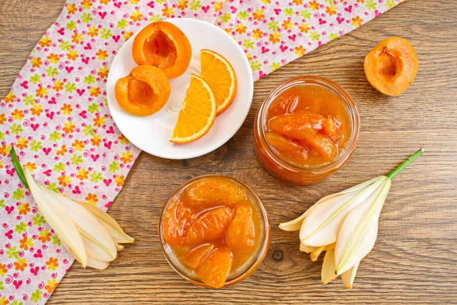 Apricot and Orange Blossom Jam recipe - step 6