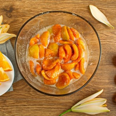 Apricot and Orange Blossom Jam recipe - step 1