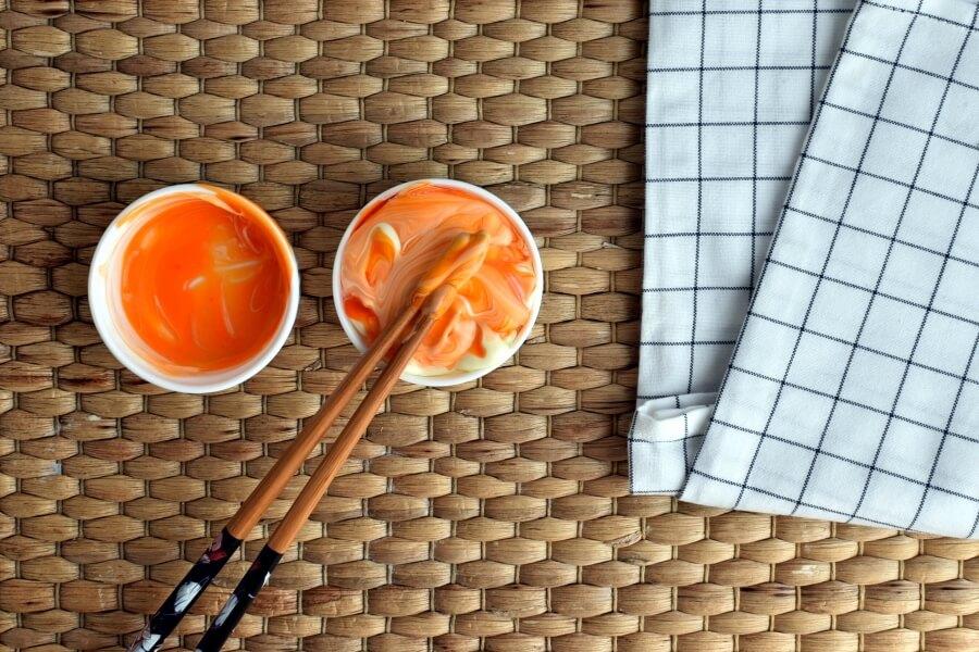 Bacon Arugula and Egg Wraps recipe - step 7