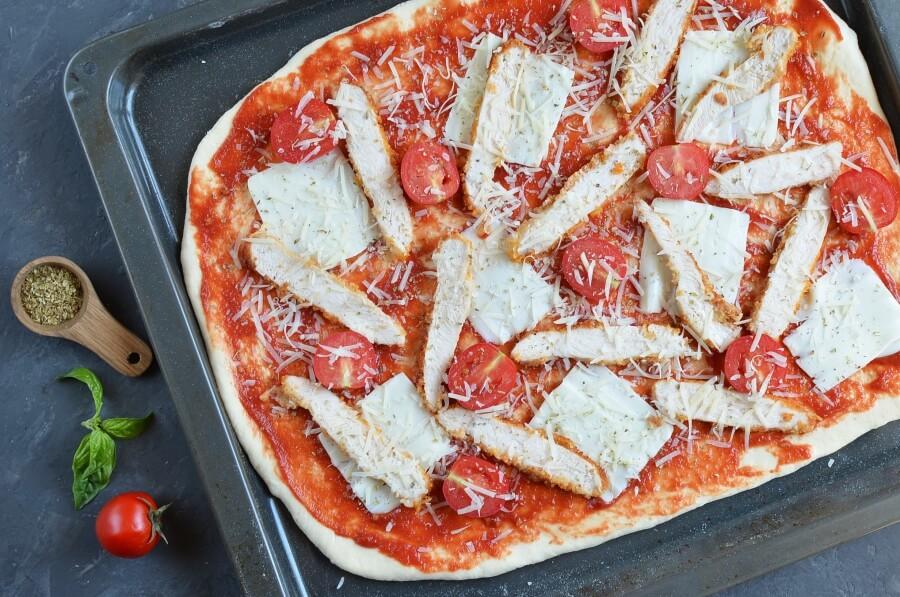 Chicken Parmesan Pizza recipe - step 8