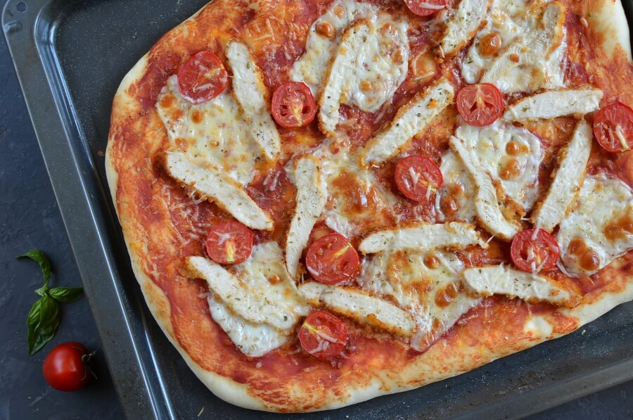 Chicken Parmesan Pizza recipe - step 9