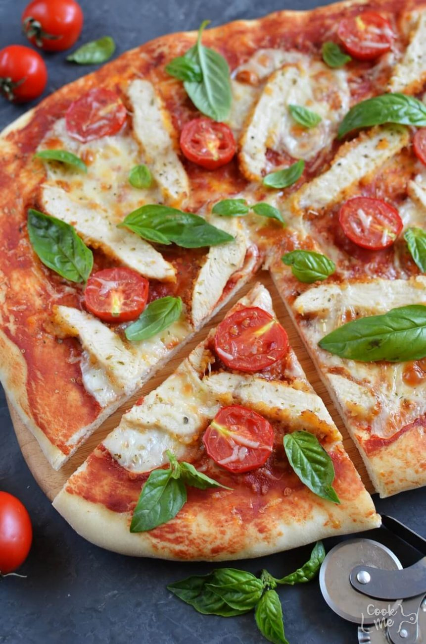 Chicken Parmesan Pizza