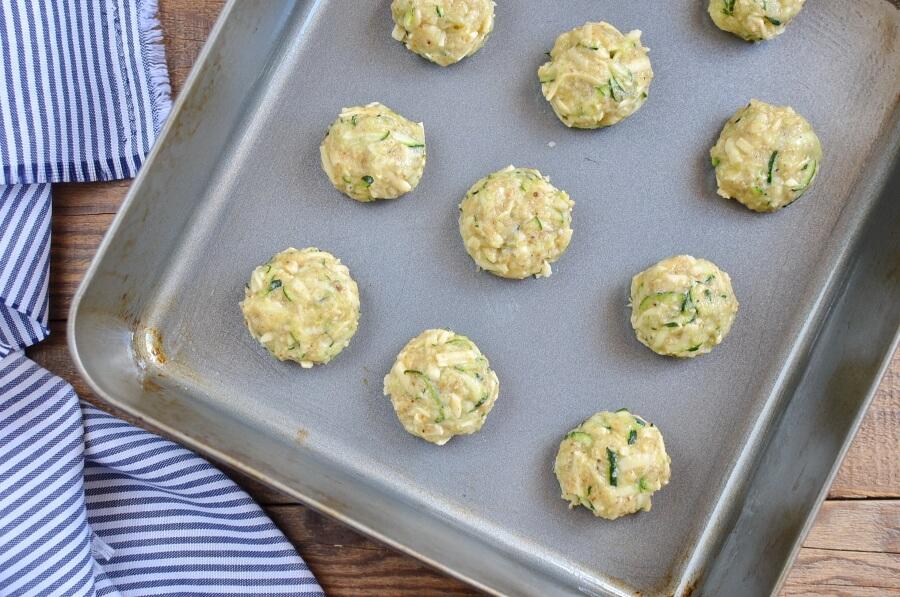 Cheesy Zucchini Tots recipe - step 4