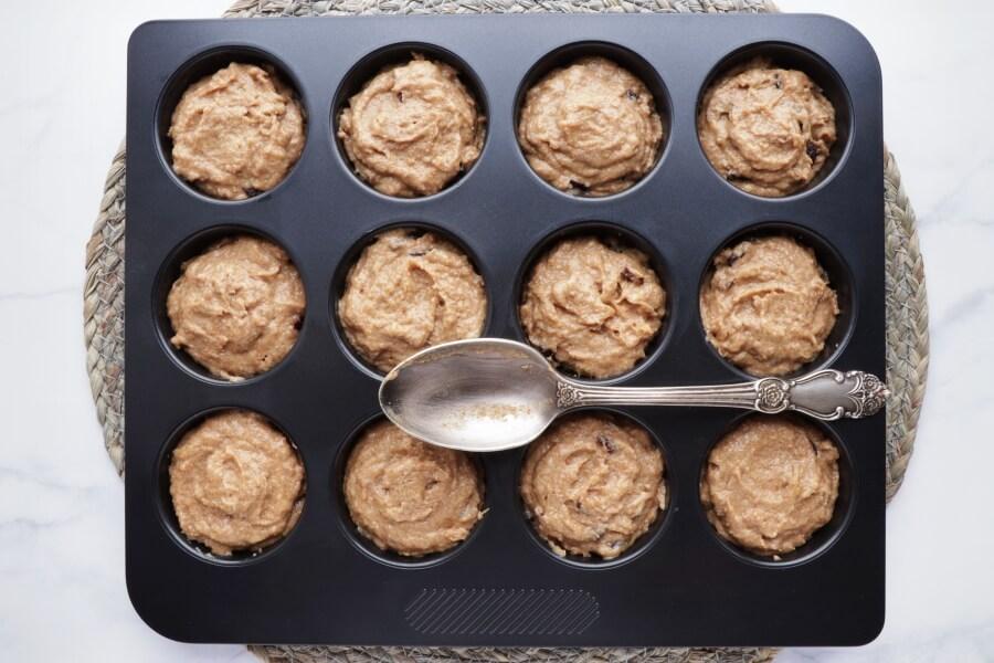 Cherry Gingerbread Muffins recipe - step 7