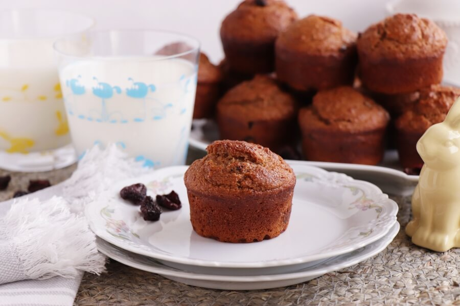 How to serve Cherry Gingerbread Muffins