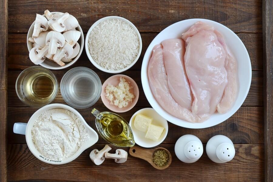 Chicken Marsala Over White Rice Recipe-Homemade Chicken Marsala Over White Rice-Delicious Chicken Marsala Over White Rice