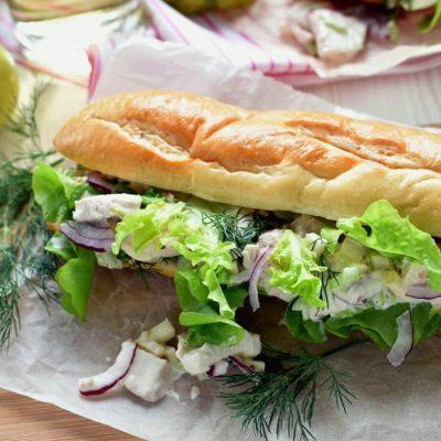 Chicken Salad Sandwich Recipe-Homemade Chicken Salad Sandwich-Delicious Chicken Salad Sandwich