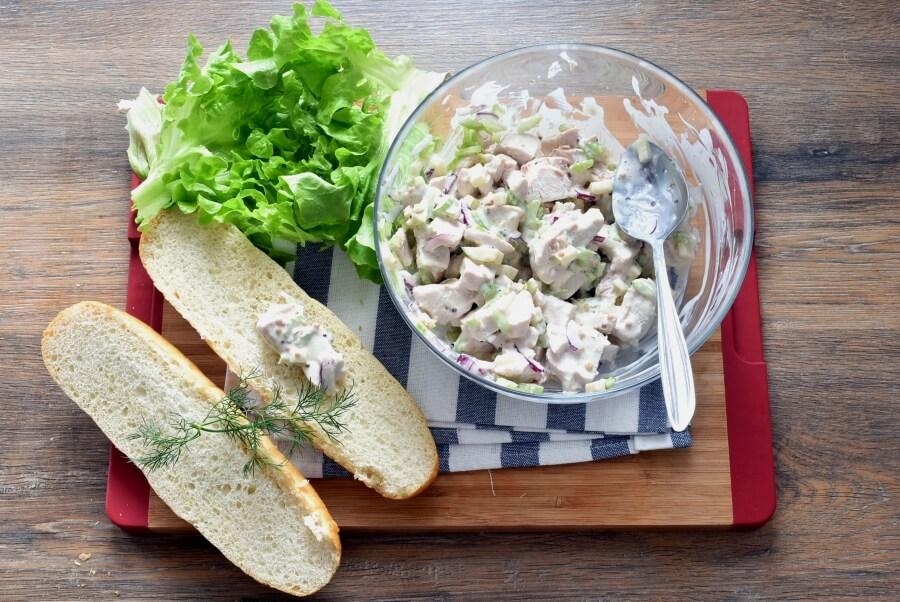 How to serve Chicken Salad Sandwich