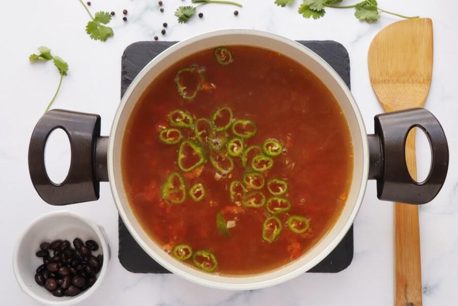 Chicken Tortilla Soup recipe - step 3
