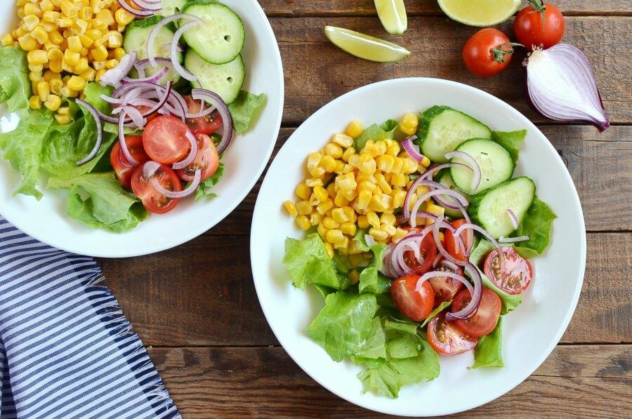 Vegan Barbecue Chickpea Salad recipe - step 2