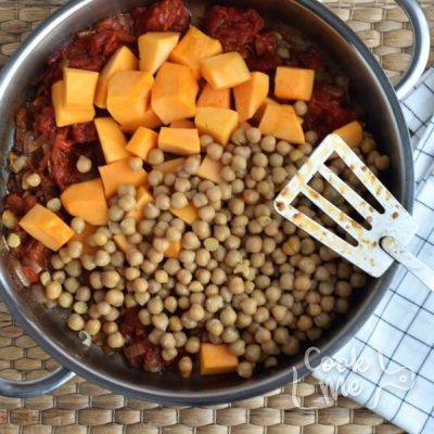 Vegan Chickpea Sweet Potato Stew recipe - step 3