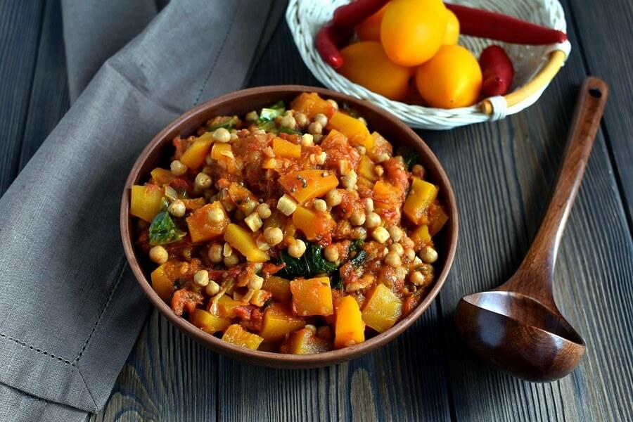 How to serve Vegan Chickpea Sweet Potato Stew