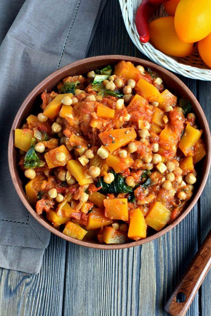 Healthy flavorsome vegan stew