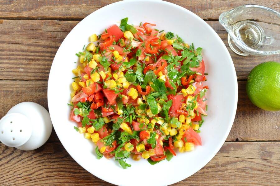 How to serve Corn Salsa