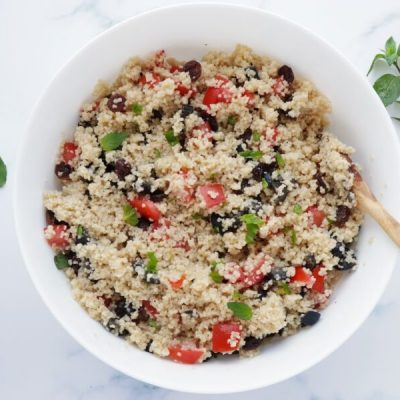 Couscous Salad with Olives and Raisins recipe - step 3