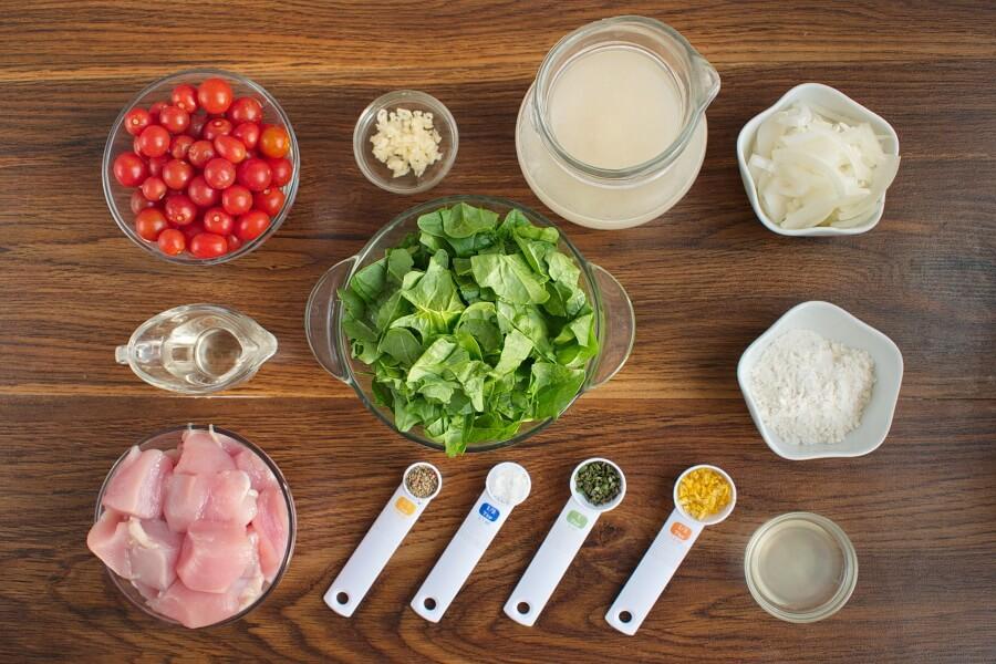 Creamy Chicken-Tomato Skillet Recipe-How to make Creamy Chicken-30-Minute Creamy Chicken
