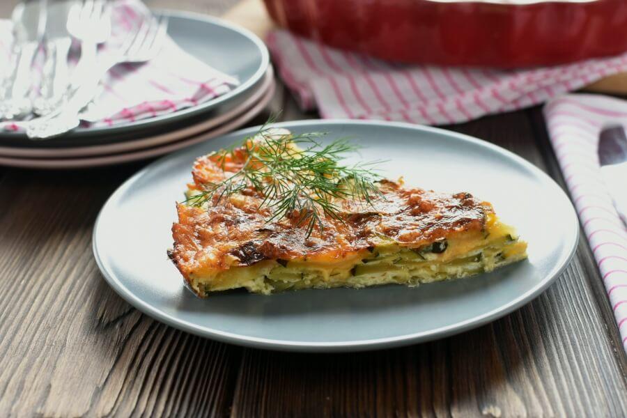 How to serve Gluten Free Crustless Zucchini Quiche
