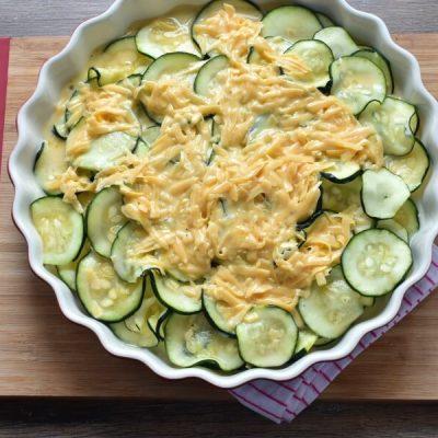 Gluten Free Crustless Zucchini Quiche recipe - step 6