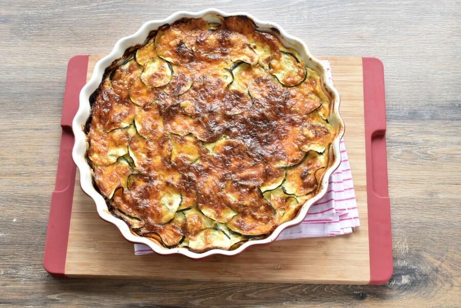 Gluten Free Crustless Zucchini Quiche recipe - step 7