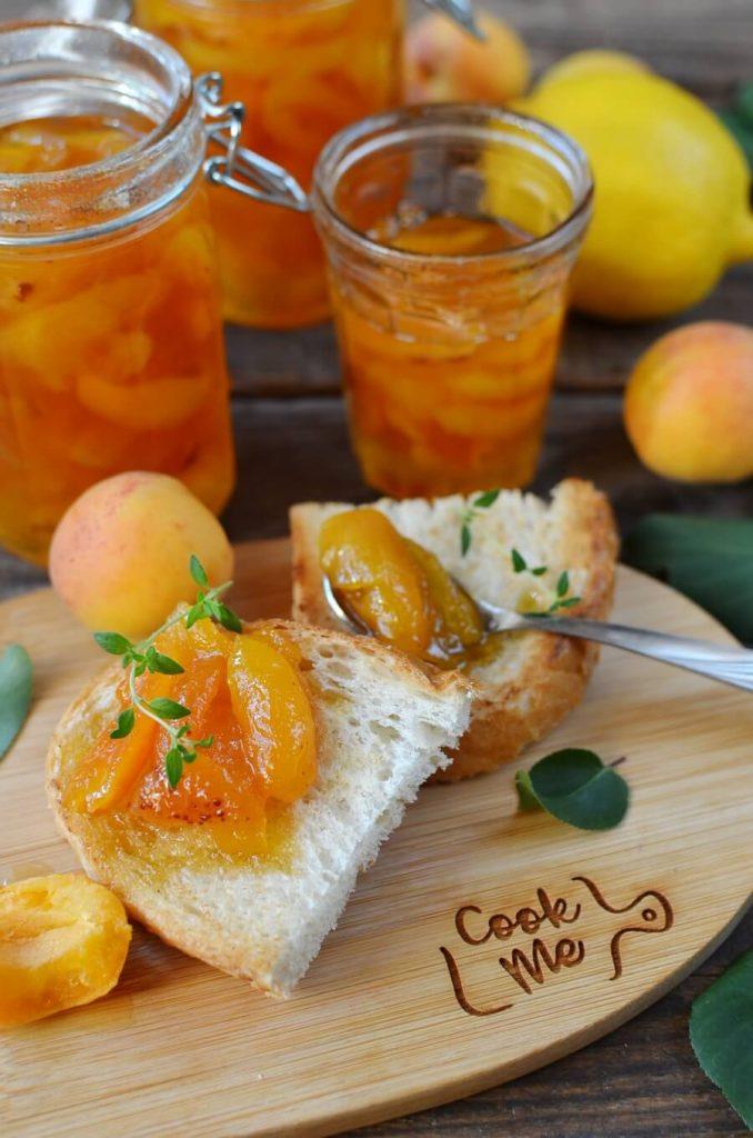 Easy peasy apricot jam