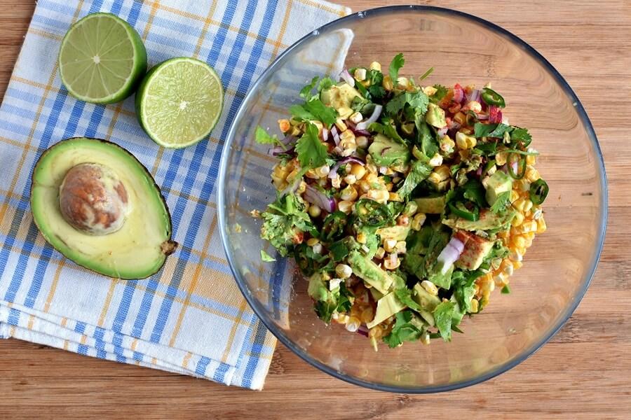Fresh Corn Salsa recipe - step 1