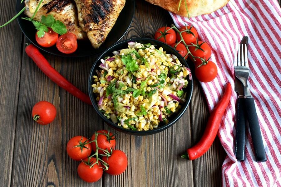 How to serve Fresh Corn Salsa