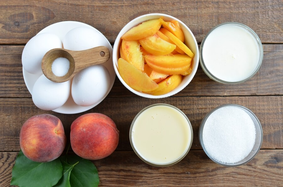 Georgia Peach Ice Cream Recipe-How To Make Georgia Peach Ice Cream-Delicious Georgia Peach Ice Cream