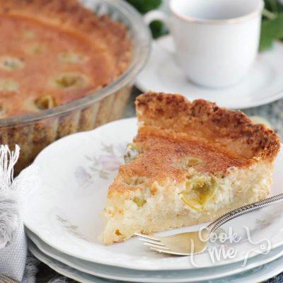Gooseberry Frangipane Tart Recipe-Delicious Gooseberry Frangipane Tart-How to Make a Gooseberry Frangipane Tart
