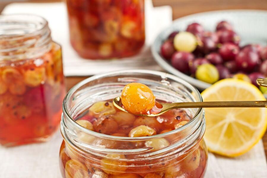 Gooseberry and Chamomile Jam recipe-Gooseberry & camomile jam recipe-How to make Gooseberry and camomile jam