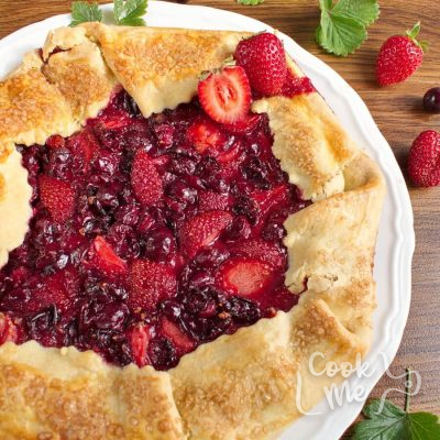 Gooseberry and Strawberry Galette Recipe-How to make Gooseberry and Strawberry Galette-Gooseberry Tart