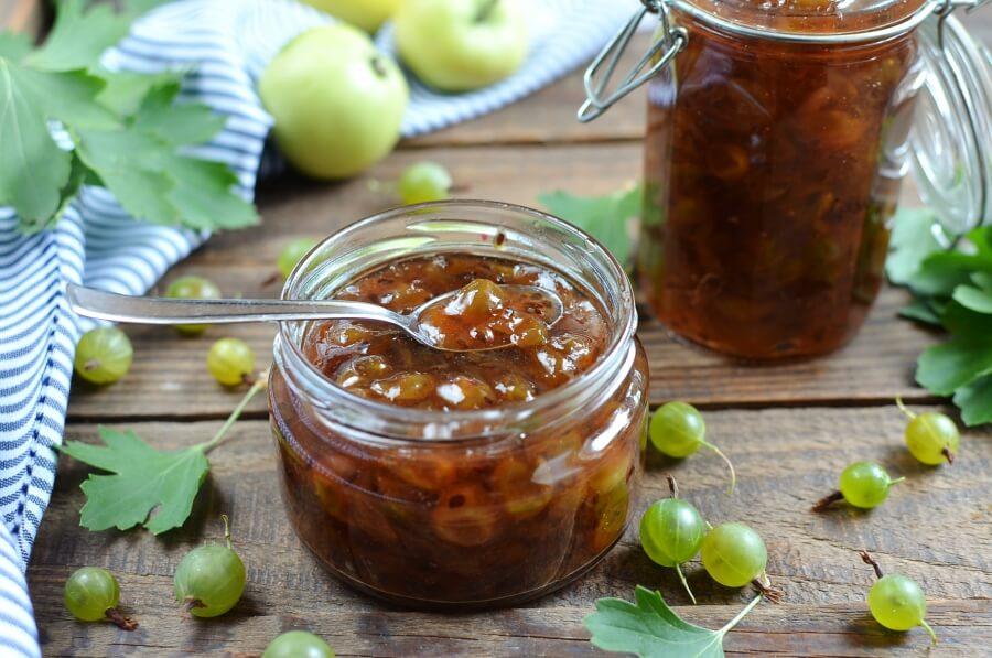 How to serve Gooseberry Jam