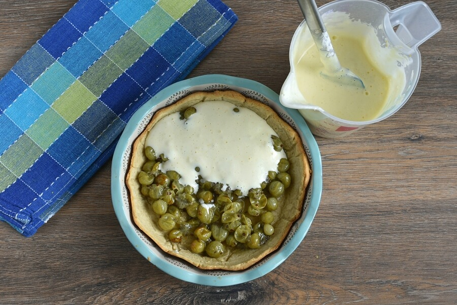 Gooseberry Tart recipe - step 8