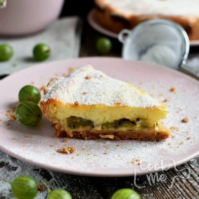 Gooseberry tart Recipe-Homemade Gooseberry tart-Delicious Gooseberry tart