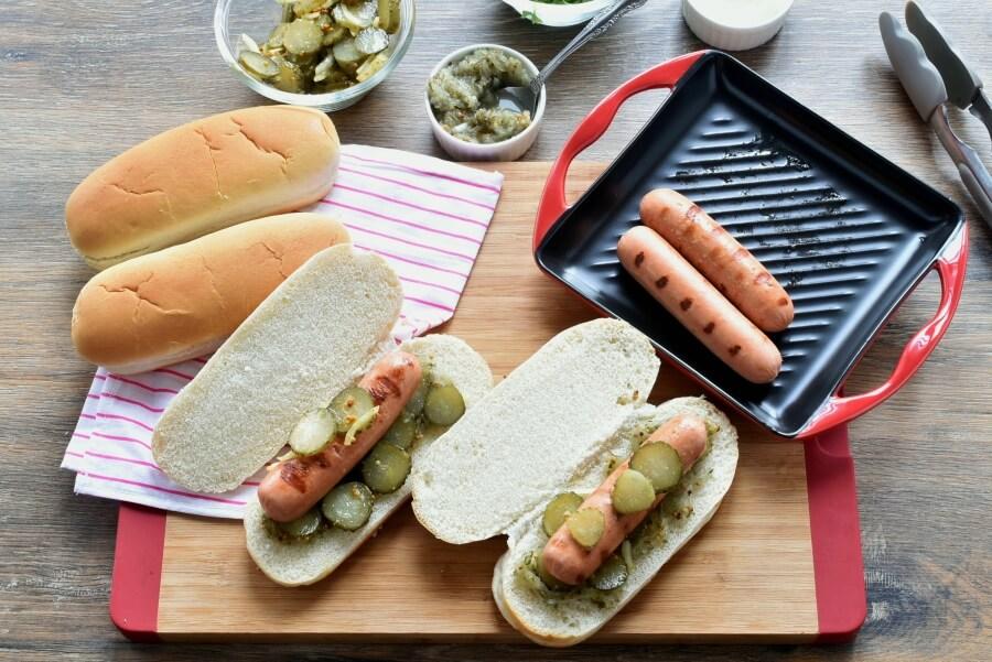Grilled Chicago Dog recipe - step 3