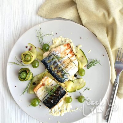 Grilled mackerel with pickled gooseberry ketchup Recipe-How to make Grilled mackerel with pickled gooseberry ketchup-Delicious Grilled mackerel with pickled gooseberry ketchup